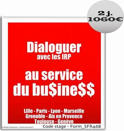 Irp Dialoguer Avec Dialogue Social Formation Sense