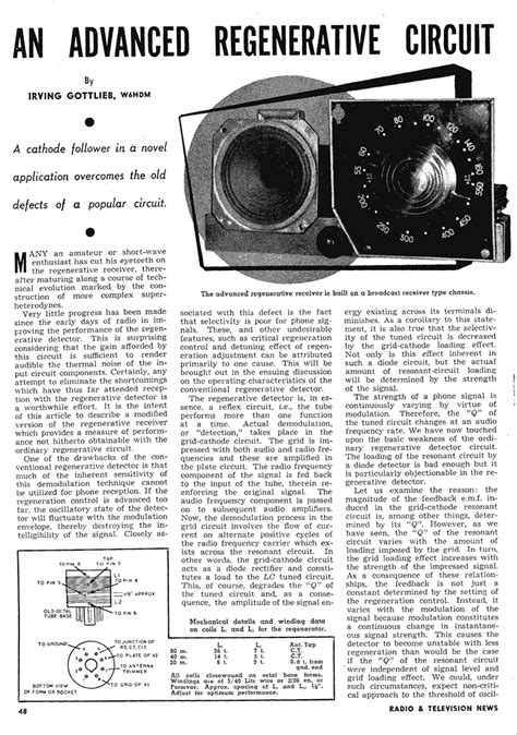 Single Triode Regen Revisited The Radioboard Forums