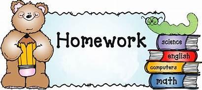 Homework Term Clipart Class Primary She Mrs