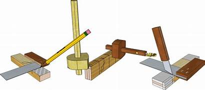 Mortise Tenon Joint Tools Joinery Dt Laying