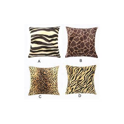 Leopard Animal Zebra Sofa Cushion Pillow Throw