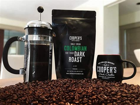 The blend that started it all. Colombian Dark Roast Coffee Beans, Micro Lot Single Origin Whole Bean - Cooper's Cask Coffee Company