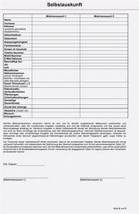 Mietvertrag Vorlage 2015 : selbstauskunft vorlage bank muster und vorlage ~ Eleganceandgraceweddings.com Haus und Dekorationen