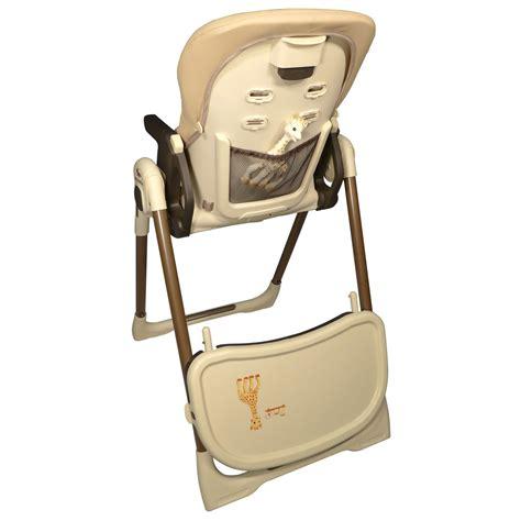 chaise haute des la naissance chaise haute bébé vision la girafe de renolux sur