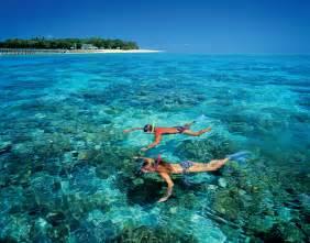 Snorkeling in Australia Great Barrier Reef Islands