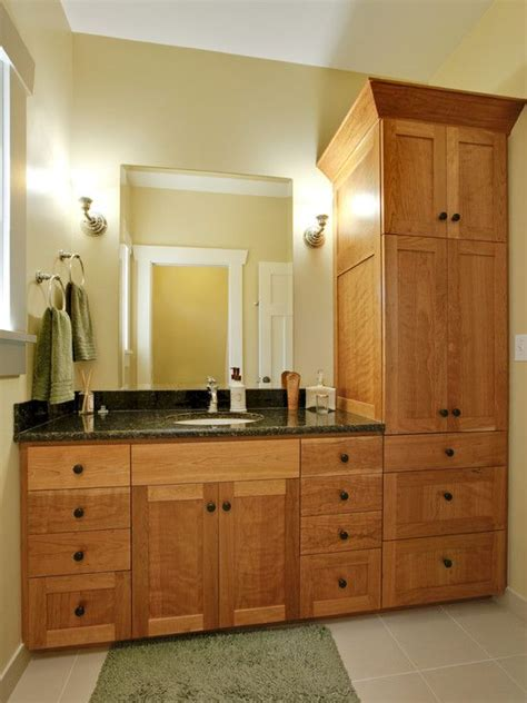 tall bathroom cabinet design pictures remodel decor