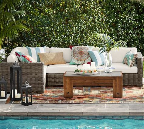 Wicker Outdoor Furniture Sale by 60 Pottery Barn Outdoor Furniture Sale Save On Sofas