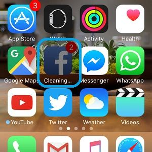 iphone icon meanings what does quot cleaning quot app icon on iphone home 1155
