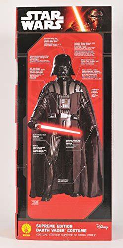 supreme darth vader costume rubie s costume s wars collector supreme edition