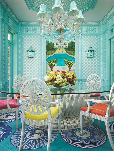 10 Vibrant Tropical Dining Rooms With Colorful Zest