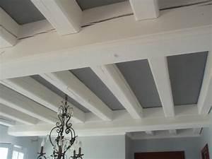 peinture poutre plafond pinteres With comment repeindre un plafond