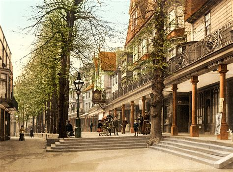 The Pantiles, (royal) Tunbridge Wells, Kent, England