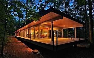 Maison Bois Contemporaine : maison bois contemporaine par travis price architects berkeley springs usa construire tendance ~ Preciouscoupons.com Idées de Décoration