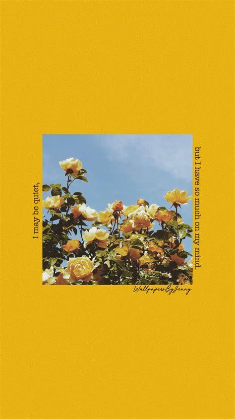 yellow roses wallpaper aesthetic iphone wallpaper