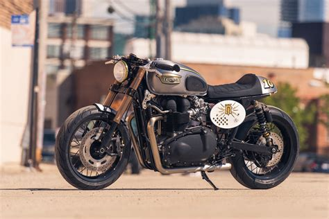 Triumph Bonneville By Analog Motorcycles