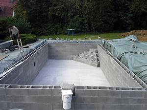 construction de piscines en beton dur tout budget With construction d une piscine beton