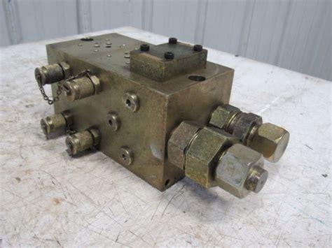 gdptbbs  station compact hydraulic valve block