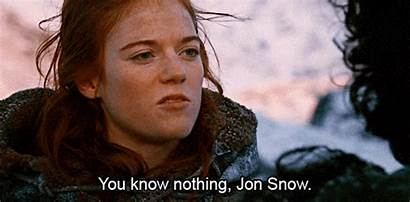 Idea Talking Correct Someone Nothing Jon Snow