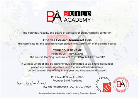 Certificate Courses by Course Certificates And Diploma Programs By Build Academy