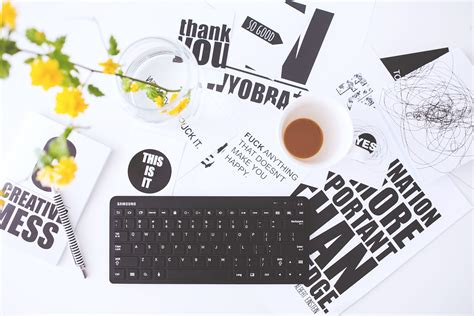 Keyboard, Technology, Advertising, Office, Student, Business, Still Life, Label