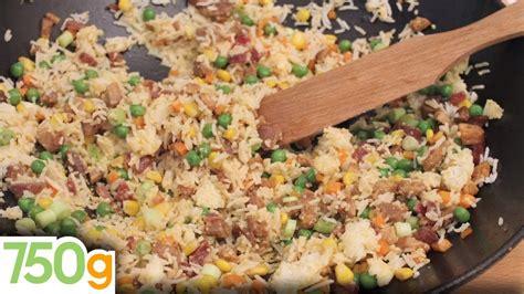 750grammes recettes de cuisine recette du véritable riz cantonais 750 grammes