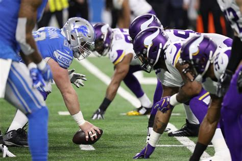 detroit lions  minnesota vikings   open