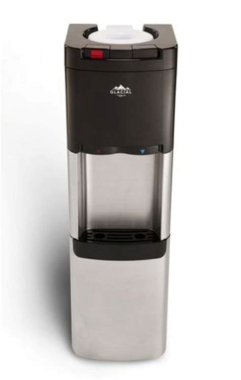 glaciala hot cold water dispenser stainless steel