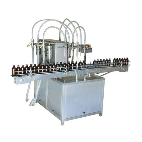 single phase automatic bottle filling  sealing machine     hp rs