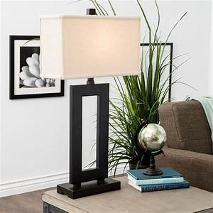 mocha metal table lamp with cream shade by i love living With mocha metal floor lamp