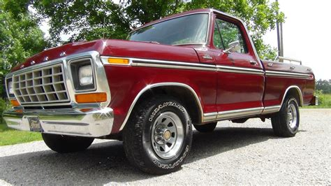 truck car ford all american classic cars 1979 ford f100 ranger pickup truck