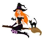 witch clip art royalty  gograph