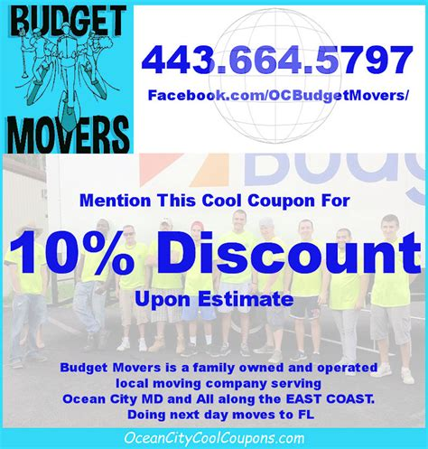 budget movers ocean city md ocean city cool
