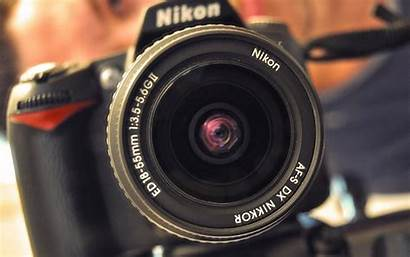 Camera Nikon Wallpapers Dslr D90 Desktop Backgrounds