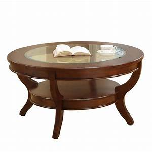 The brilliant modern wood coffee table white round cherry for Modern cherry coffee table