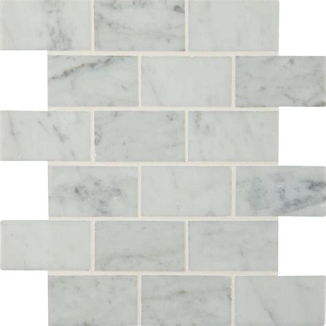 white marble tile 12x12 ms international carrara white 12 in x 12 in x 10 mm