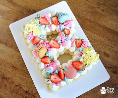 joconde cake recipe alphabet cake sugar geek show