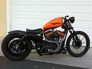 Bobber Harley Davidson : harley sportster bobber riding vid youtube ~ Medecine-chirurgie-esthetiques.com Avis de Voitures