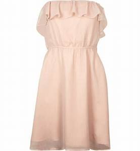 robe bustier jennyfer robe bustier rose poudre en toile With jennyfer robes
