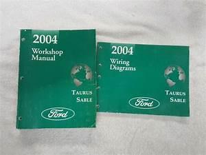 2004 Ford Taurus Sable Repair Shop Shop Service Manual