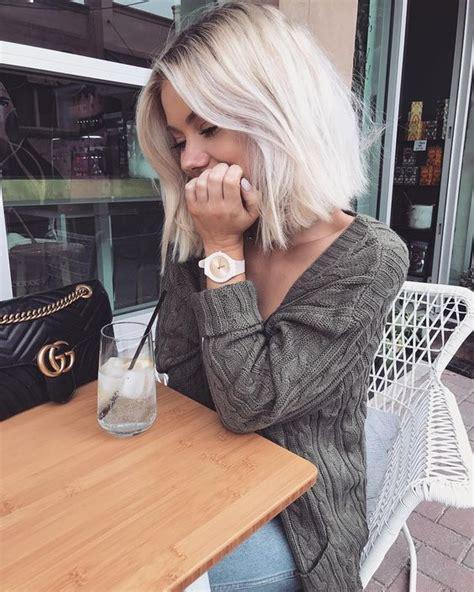 blond polaire meche tendances coiffure printemps 233 t 233 2018