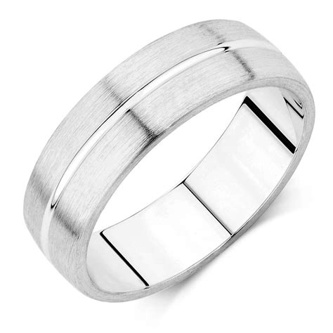 blue wedding ring 39 s wedding band in 10ct white gold