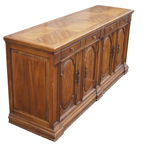 buffet credenza 64 quot traditional style hickory credenza buffet mr11752 ebay