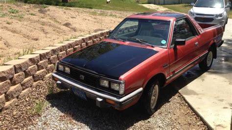 small engine service manuals 1985 subaru brat transmission control 1985 subaru brat gl red for sale in tehachapi california