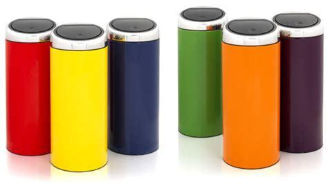 poubelle cuisine design poubelle brabantia touch bin