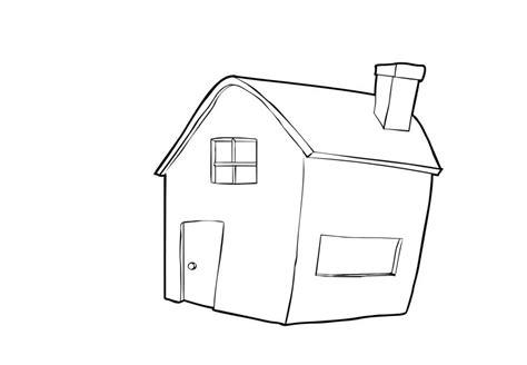 disegno da colorare casa cat  images
