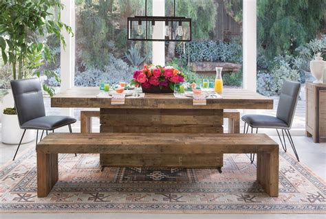 living spaces kitchen tables tahoe dining bench living spaces