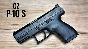 Cz P-10 S - Optics Ready And Primed For Carry