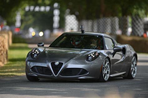 Alfa Romeo Cars  News 4c Debuts At Goodwood Festival