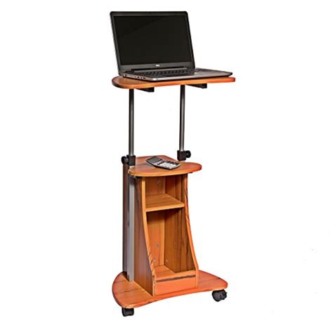 mobile laptop desk cart portable laptop cart desk rolling adjustable office table