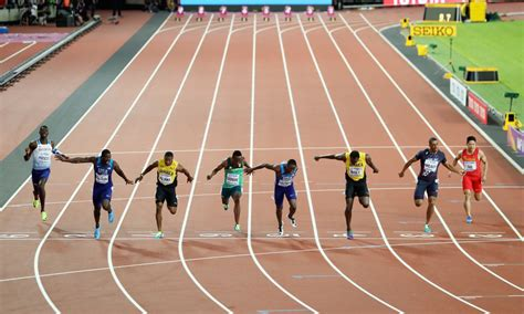 Sprint Image by Historical Predictive Analysis For The 100m Sprint Race